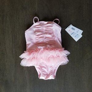 Old Navy | Baby Girl Ruffle TuTu Swim | 3-6m